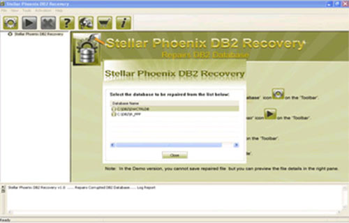 Restore an Accidentally Dropped DB2 Table Space!File Repair Tool