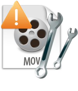 repair MOV file on Mac