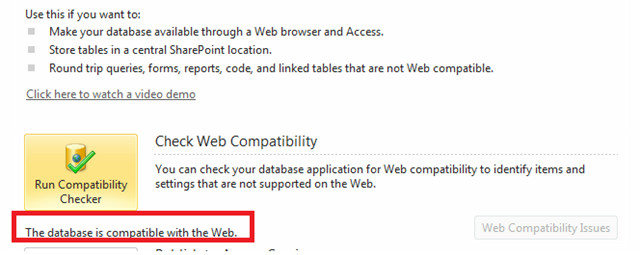 Access 2010 Web Databases Errors