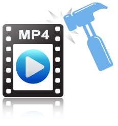 repair mp4 video files