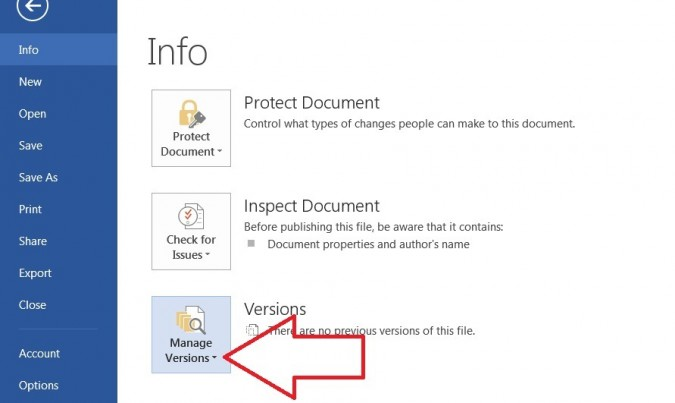 How To Recover Unsaved Or Corrupted Microsoft Word Document ...