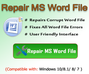 Microsoft Word Error: There is insufficient memory or disk