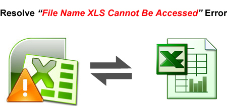 "resolving ""File Name XLS Cannot Be Accessed"" excel error"