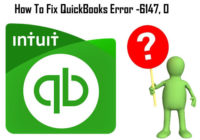 resolving QuickBooks Error -6147, 0