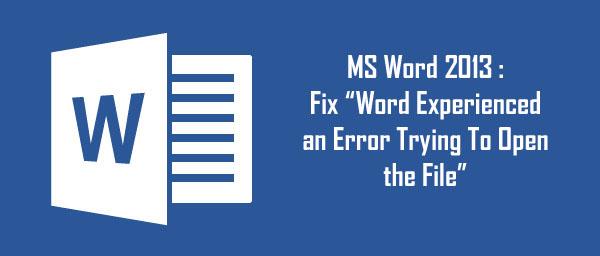 3 fixes to resolve ms word  u0026 39 normal dotm u0026 39  error easily file repair tool blog