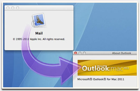 migrate from Entourage 2004/2008 to Outlook 2011