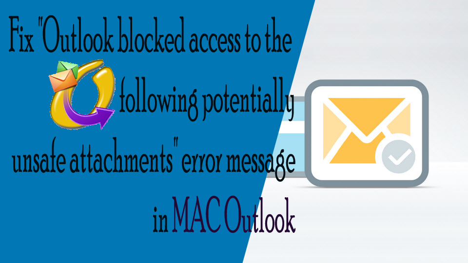 "Fix ""Outlook blocked access"""