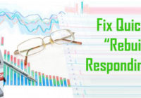 Fix QuickBooks Rebuild Not Responding Error