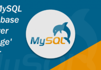 MySQL database 'power outage' error