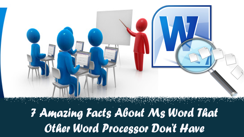 AMAZING FACTS ABOUT WORD