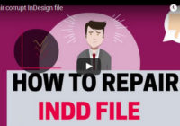 repair Corrupt InDesign File