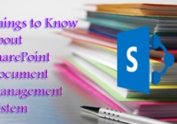 Things to Know About SharePoint Document Management System