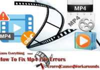 Know Everything About How To Fix Mp4 File Errors