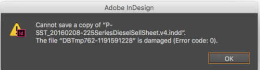 indesign Network File Share Saving