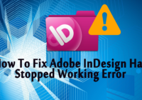 adobe indesign stopped working