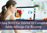 INDESIGN FILE RECOVERY